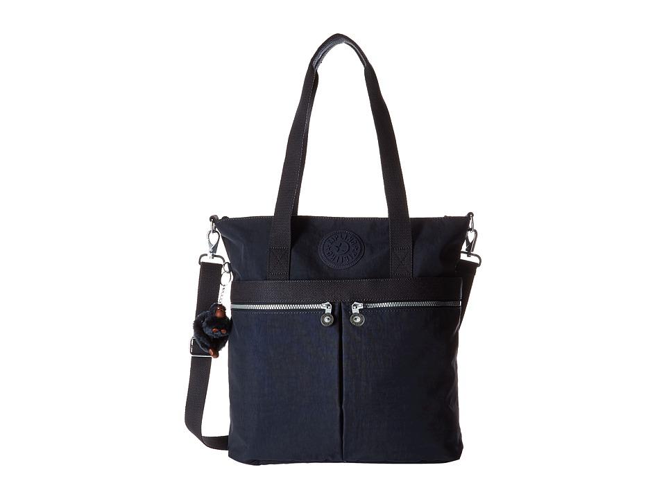 Kipling Pammie Tote True Blue Tote Handbags