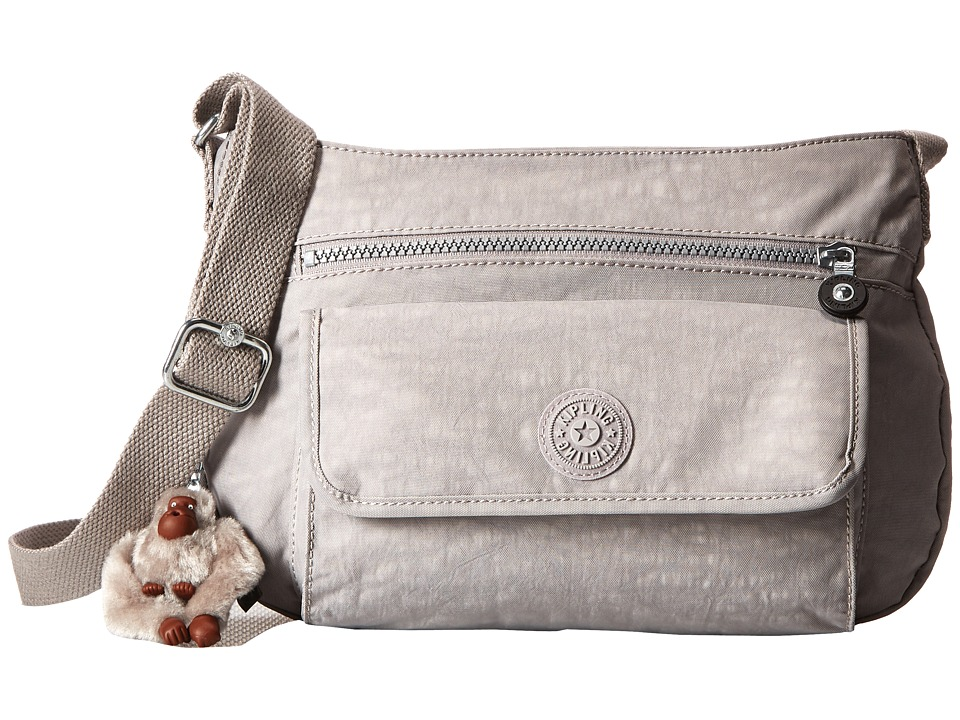 Kipling - Syro Crossbody Bag (Slate Grey) Cross Body Handbags