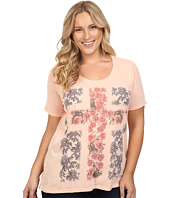 Roper - Plus Size 0432 Cotton/Poly Jersey Boyfriend Tee