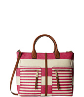 Tommy Hilfiger - Rugby Stripe Convertible Tote