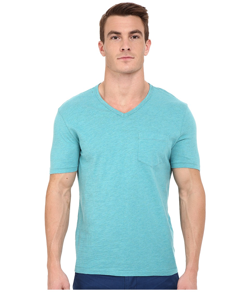 Original Penguin Bing V Neck Brittany Blue Mens T Shirt