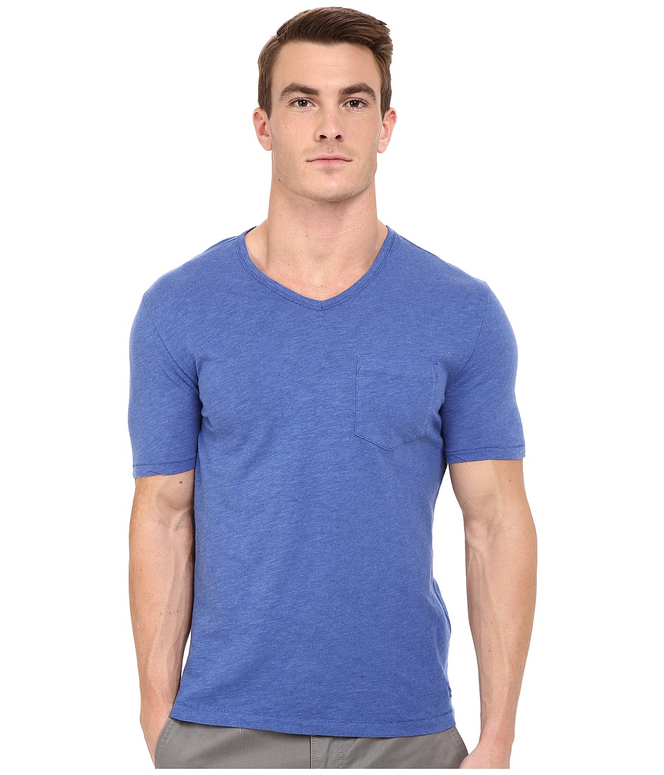 Original Penguin Bing V Neck True Blue Mens T Shirt