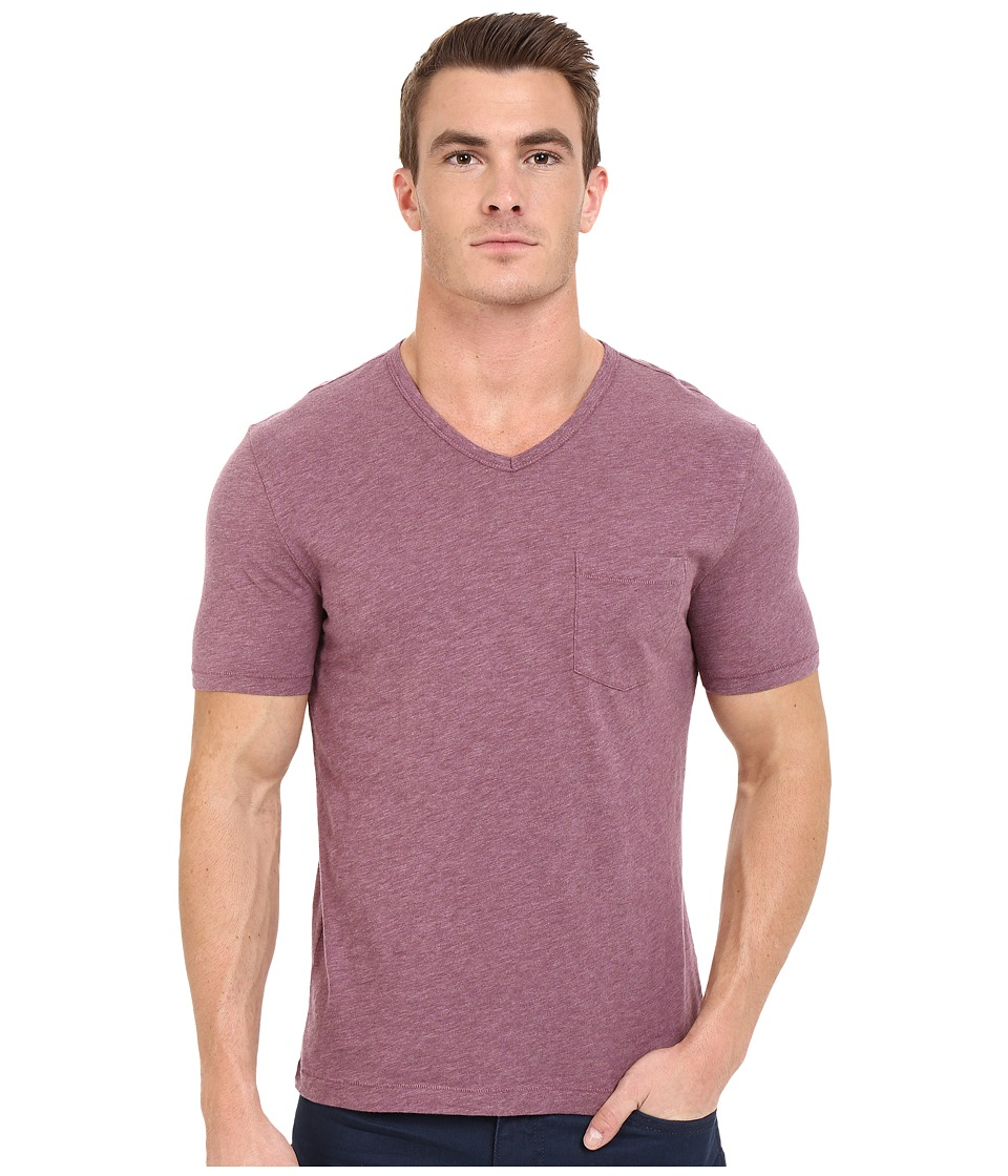 Original Penguin Bing V Neck Grape Nectar Mens T Shirt