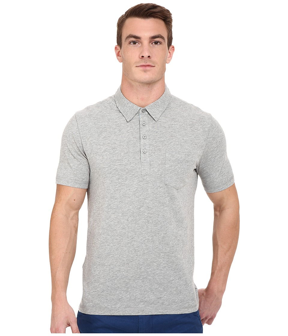 Original Penguin Bing Polo Rain Heather Mens Short Sleeve Pullover