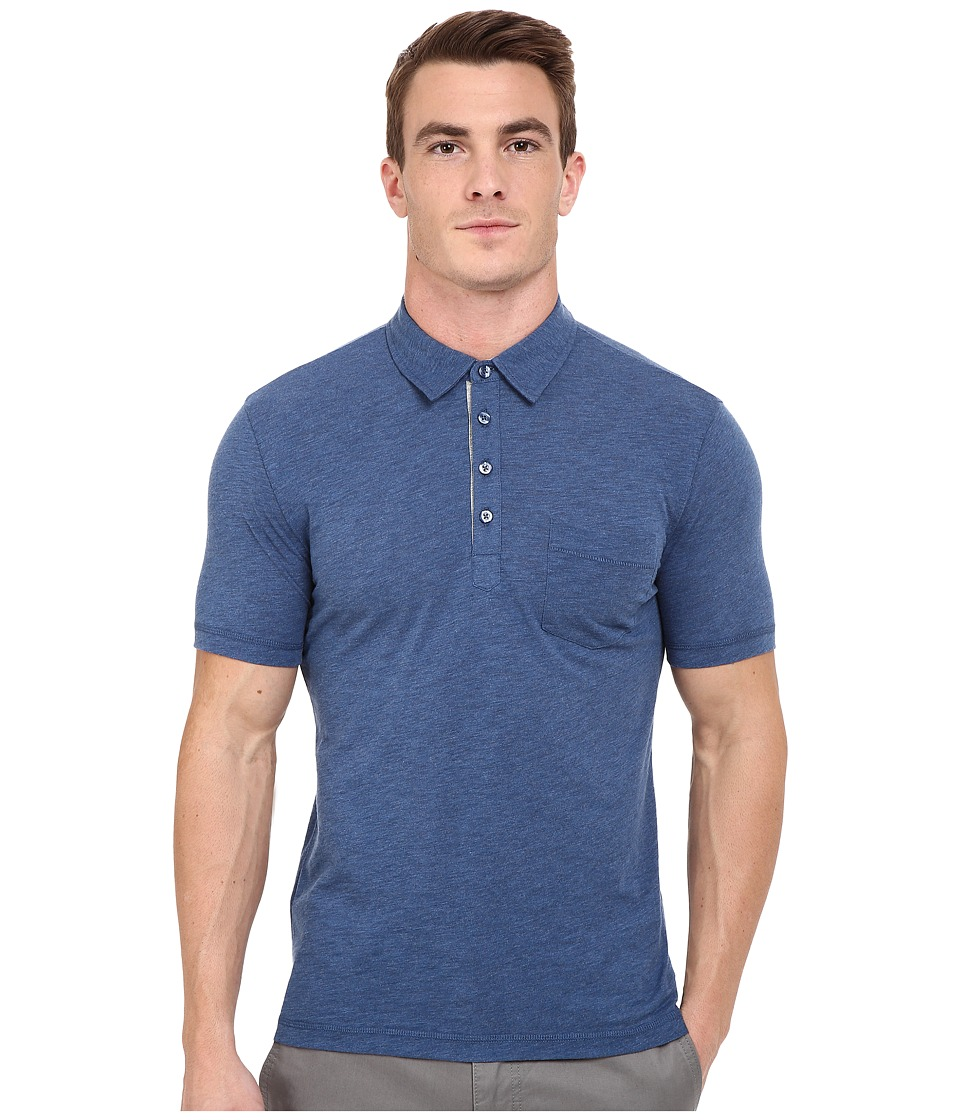 Original Penguin Bing Polo Dark Denim Mens Short Sleeve Pullover