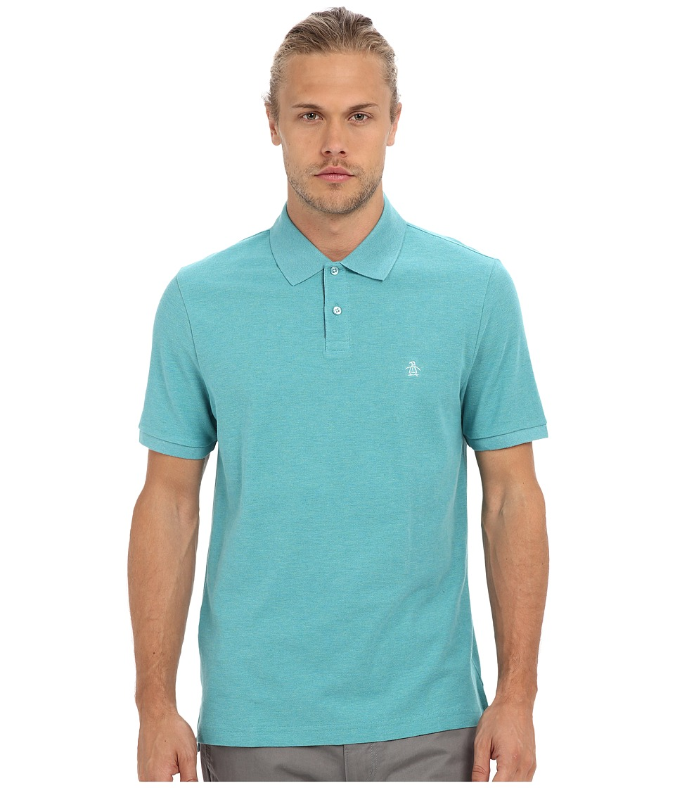 Original Penguin Daddy O Polo Brittany Blue Mens Short Sleeve Knit