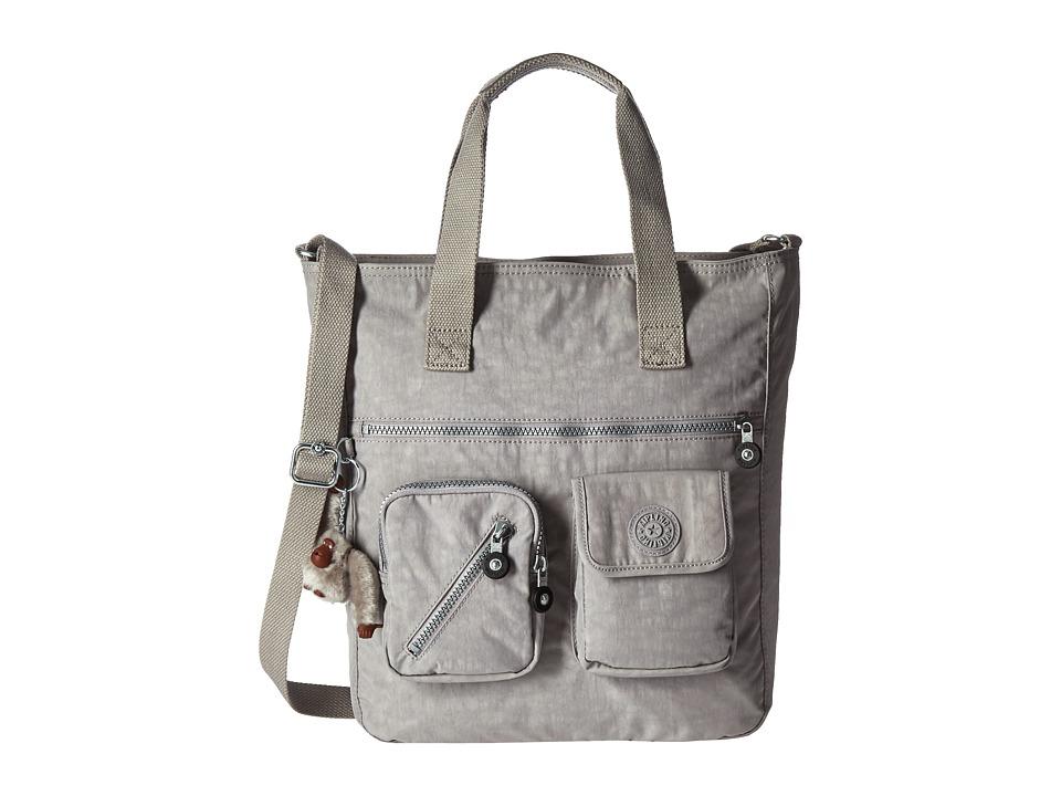 Kipling Johanna Tote Slate Grey Tote Handbags