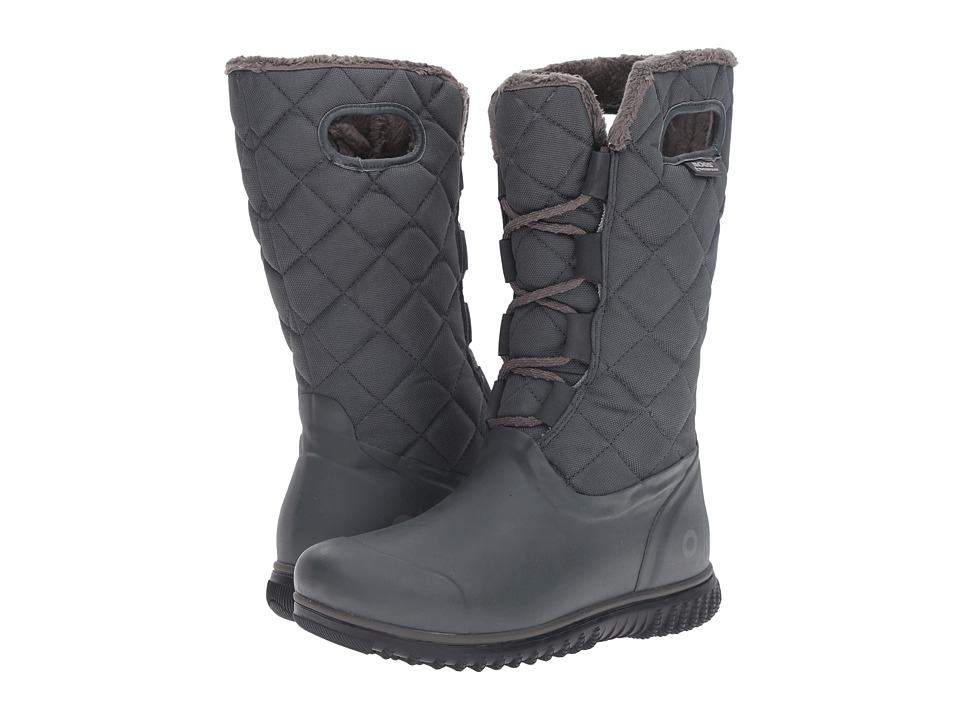 Bogs Juno Lace Tall (Dark Grey) Women