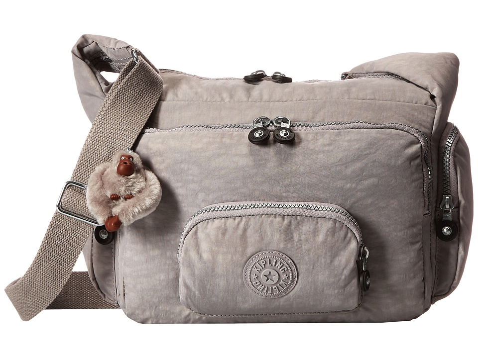Kipling - Erica Cross Body Bag (Slate Grey) Cross Body Handbags