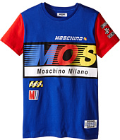 Moschino Kids - Logo Short Sleeve T-Shirt (Big Kids)