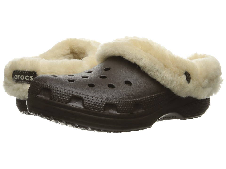 Crocs - Classic Mammoth Luxe (Espresso) Clog Shoes