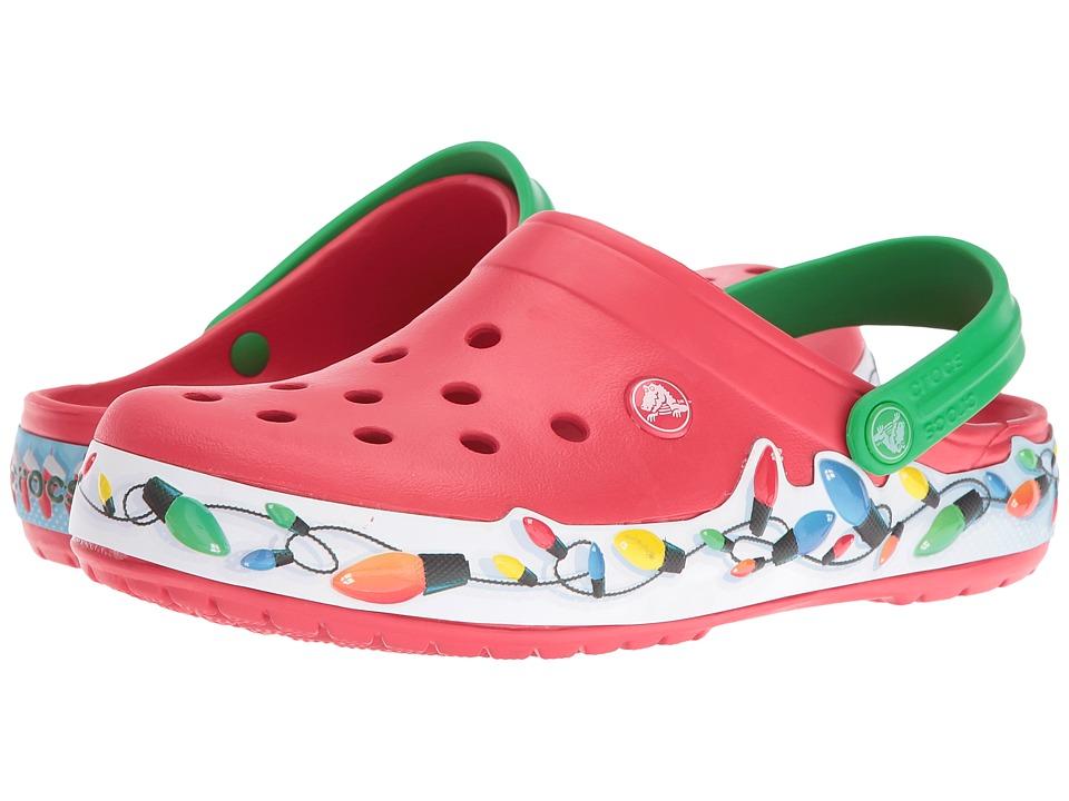 Crocs Crocband Holiday Lights Clog (Multi) Clog Shoes