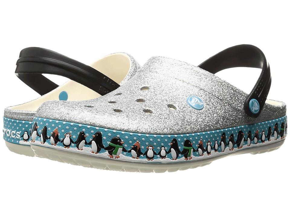 Crocs Crocband Penguins Clog (Oyster) Clog Shoes