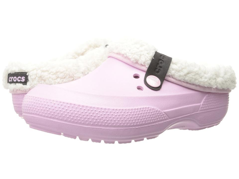 Crocs Classic Blitzen II Clog (Ballerina Pink/Oatmeal) Clog Shoes