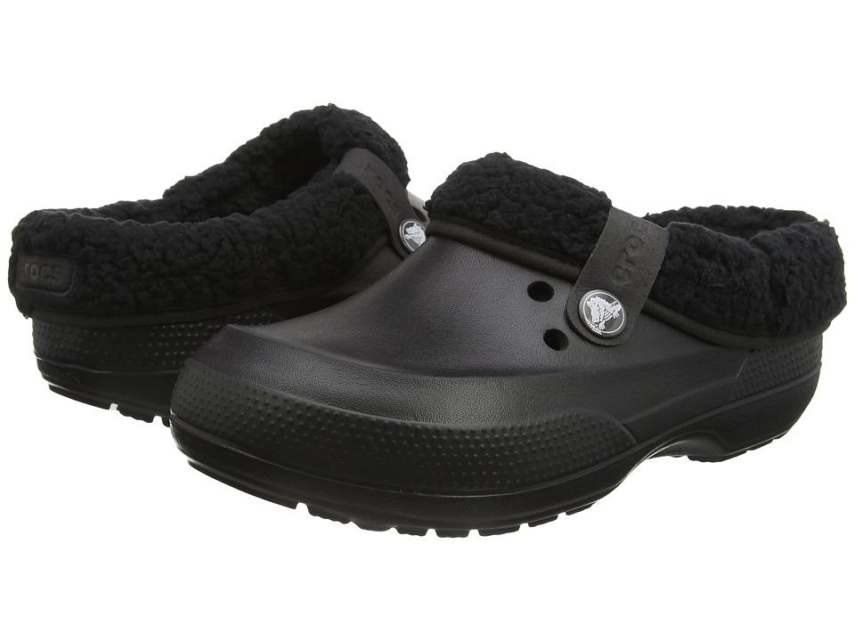 Crocs Classic Blitzen II Clog (Black/Black) Clog Shoes