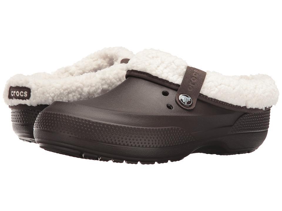 Crocs Classic Blitzen II Clog (Espresso/Oatmeal) Clog Shoes