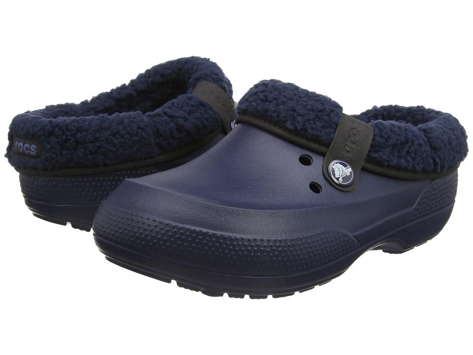 Crocs Classic Blitzen II Clog (Navy/Navy) Clog Shoes