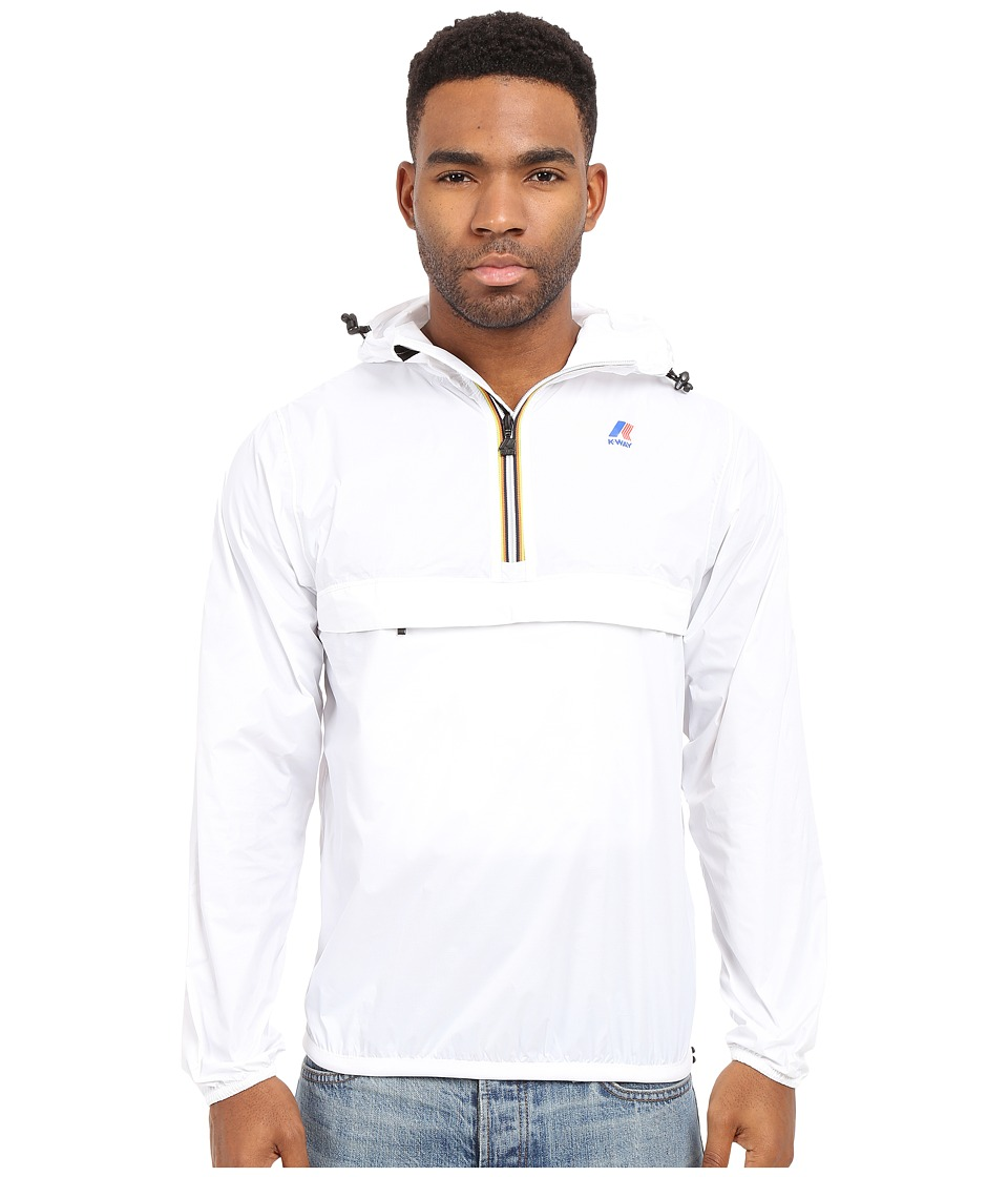 K WAY Leon 3.0 White Mens Clothing