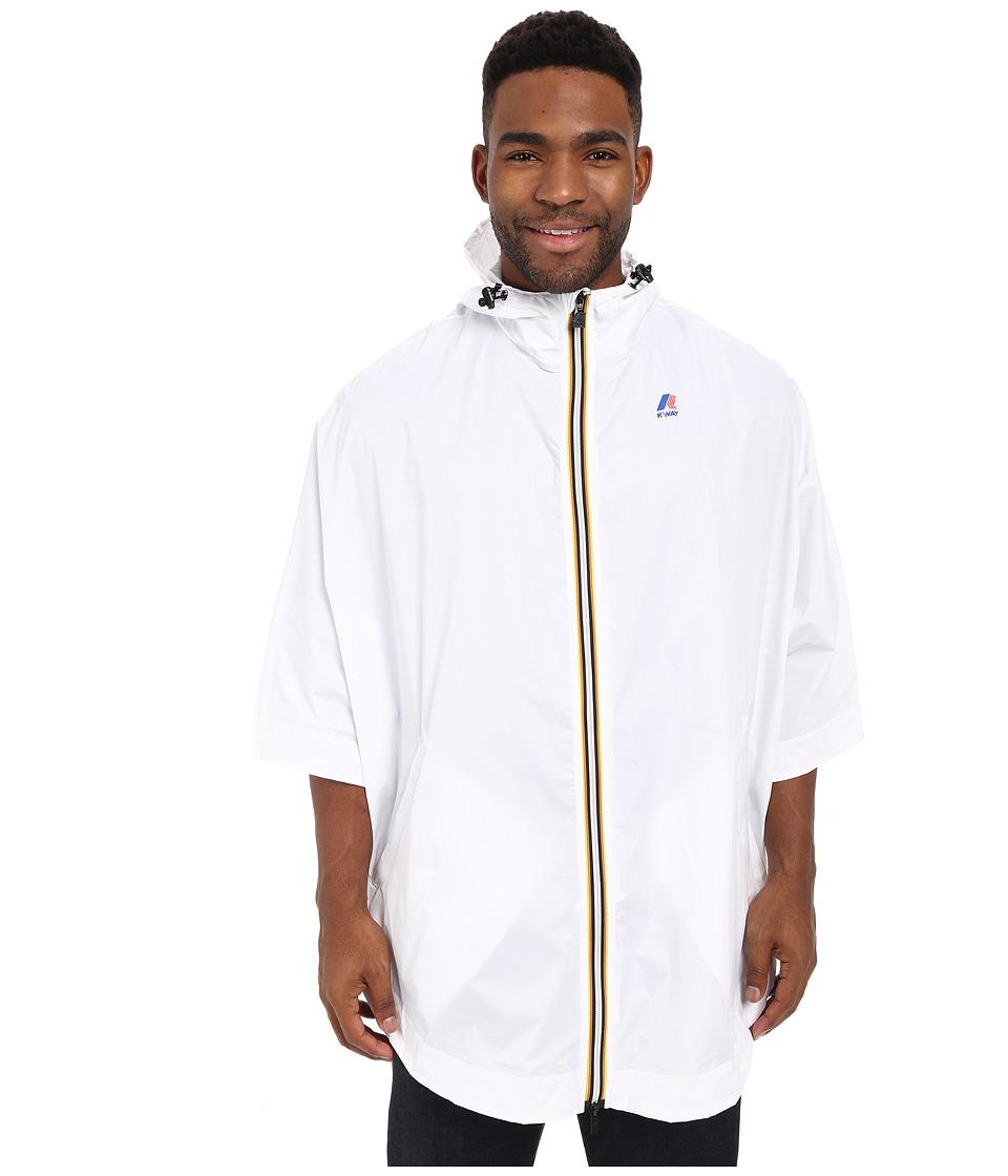 K WAY Morgan 3.0 White Mens Coat