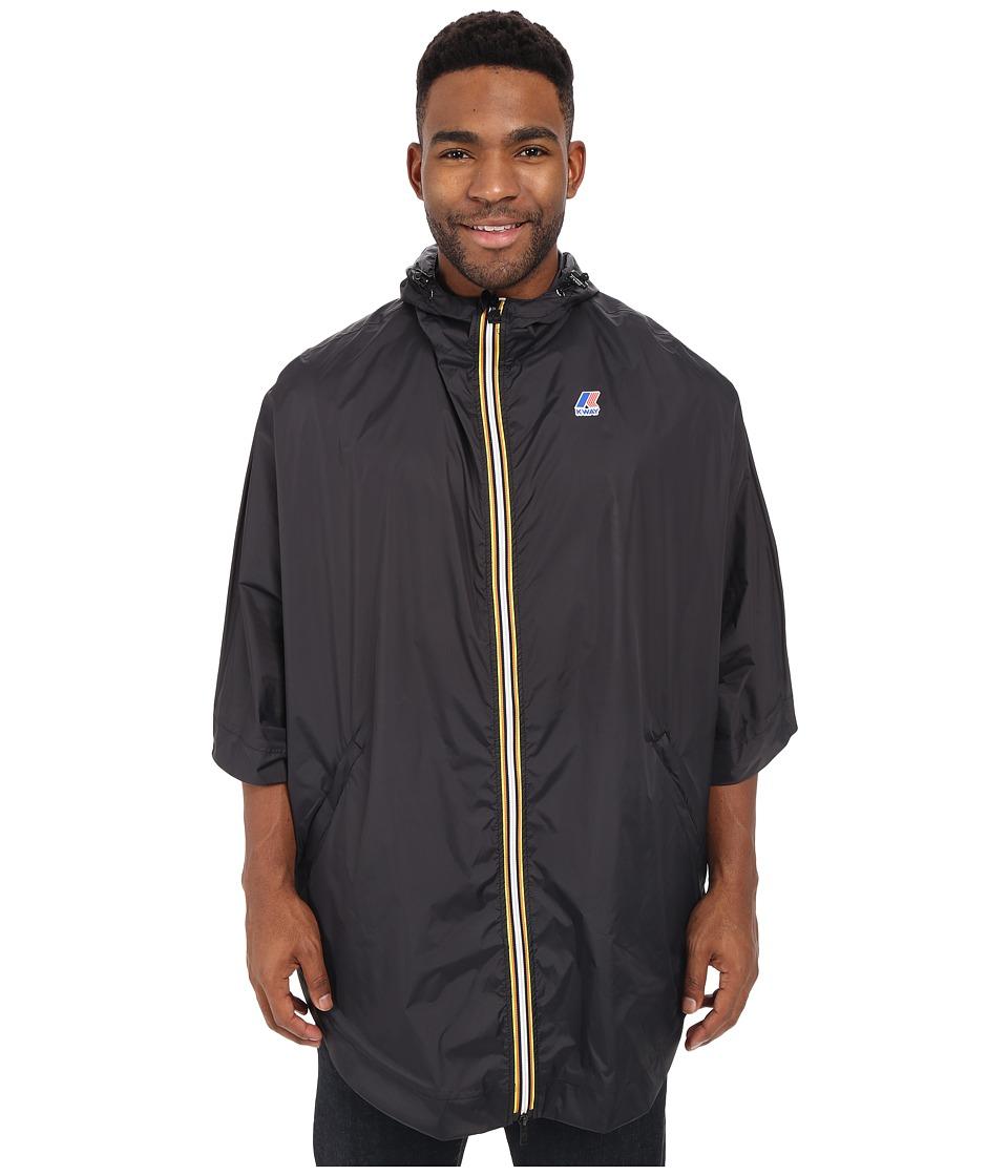 K WAY Morgan 3.0 Black Mens Coat