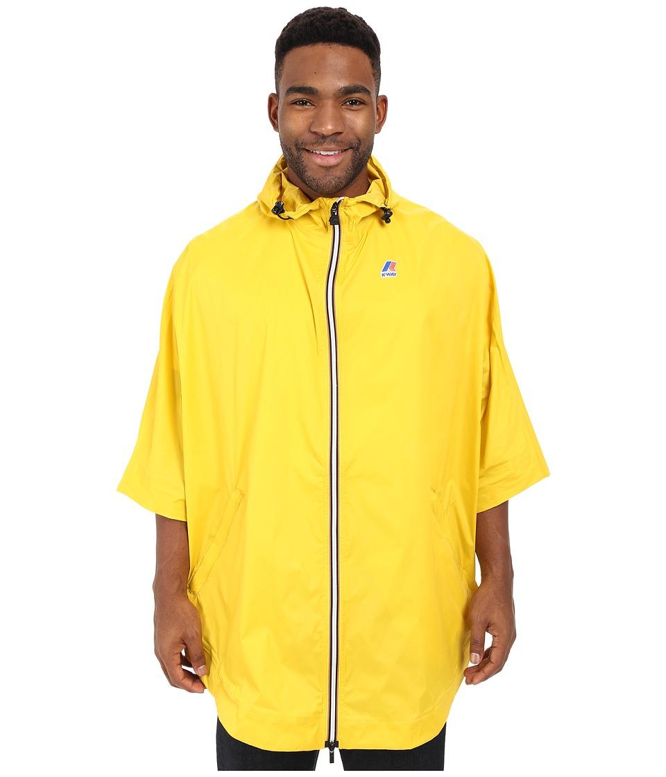K WAY Morgan 3.0 Yellow Mens Coat