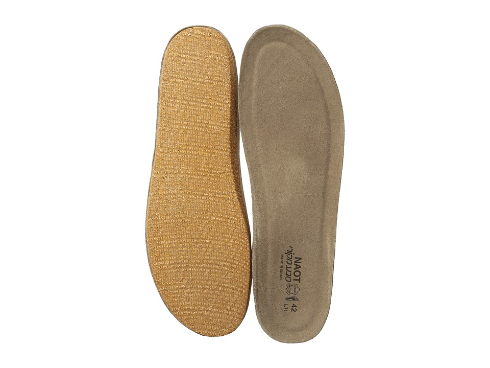 Naot Footwear FB01 Scandinavian Replacement Footbed Beige Womens Insoles Accessories Shoes