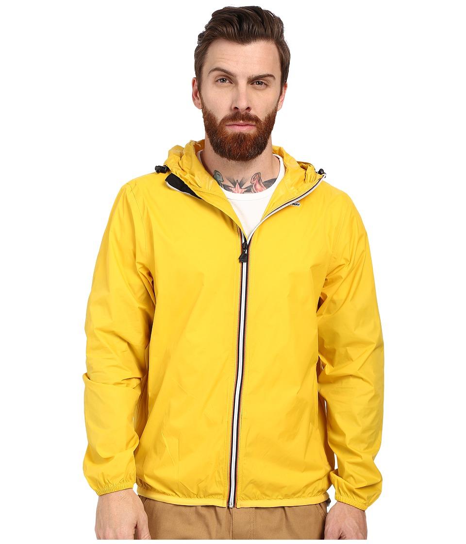 K WAY Le Vrai Claude 3.0 Yellow Mens Coat