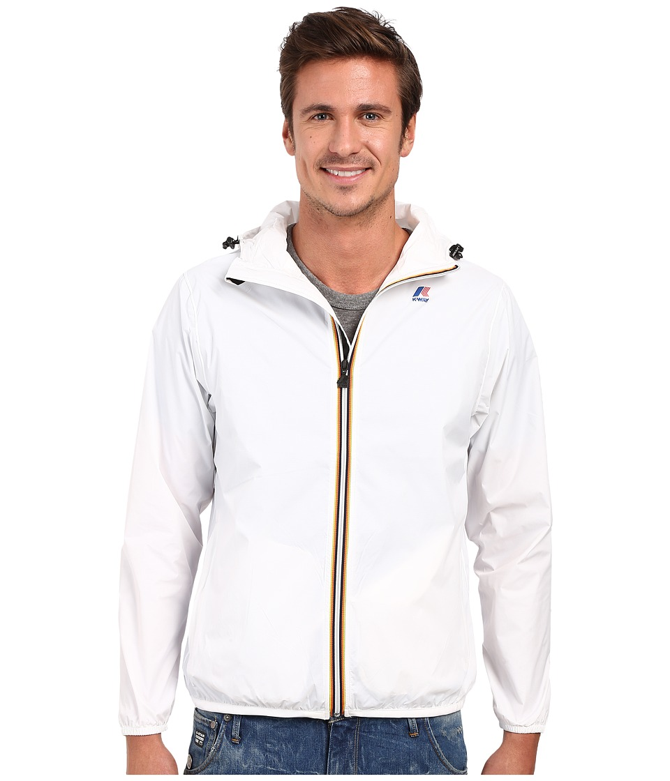 K WAY Le Vrai Claude 3.0 White Mens Coat