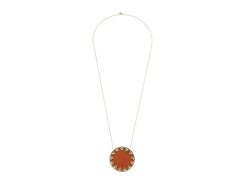 House of Harlow 1960 Sunburst Pyramid Pendant Necklace - Tan