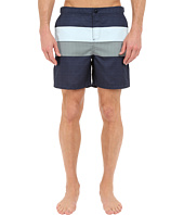 Original Penguin - Pieced Stripe Print Fixed Volley Fit