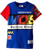 Moschino Kids - Logo Short Sleeve T-Shirt (Little Kids/Big Kids)