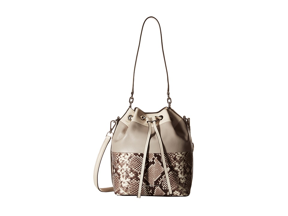 MICHAEL Michael Kors - Dottie Lg Bucket Bag (Natural) Handbags