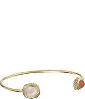 Cole Haan - 2 Stone Open C Cuff Bracelet