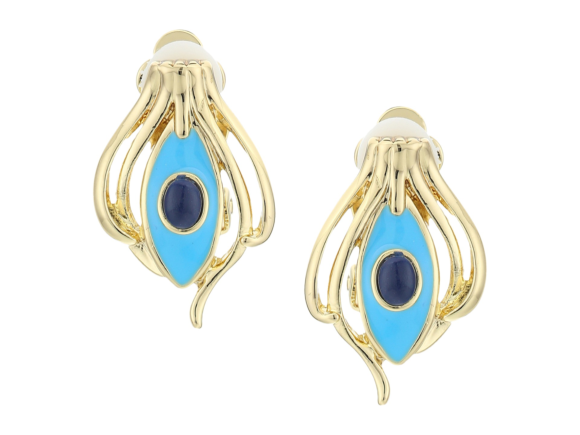 house of harlow 1960 risha clip on earrings zappos