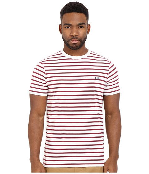 fred perry breton stripe t shirt. Black Bedroom Furniture Sets. Home Design Ideas