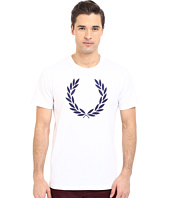 Fred Perry - Textured Laurel Wreath T-Shirt