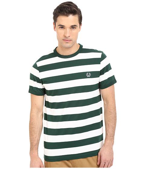 弗莱德·派瑞fred perry条纹运动t恤