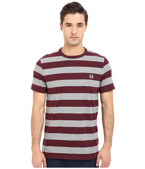 Fred Perry Striped Sports T Shirt