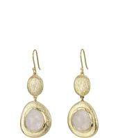 Cole Haan - Double Drop Drama Stone Earrings
