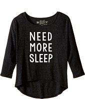 The Original Retro Brand Kids - Need More Sleep Tri-Blend Dolman (Big Kids)