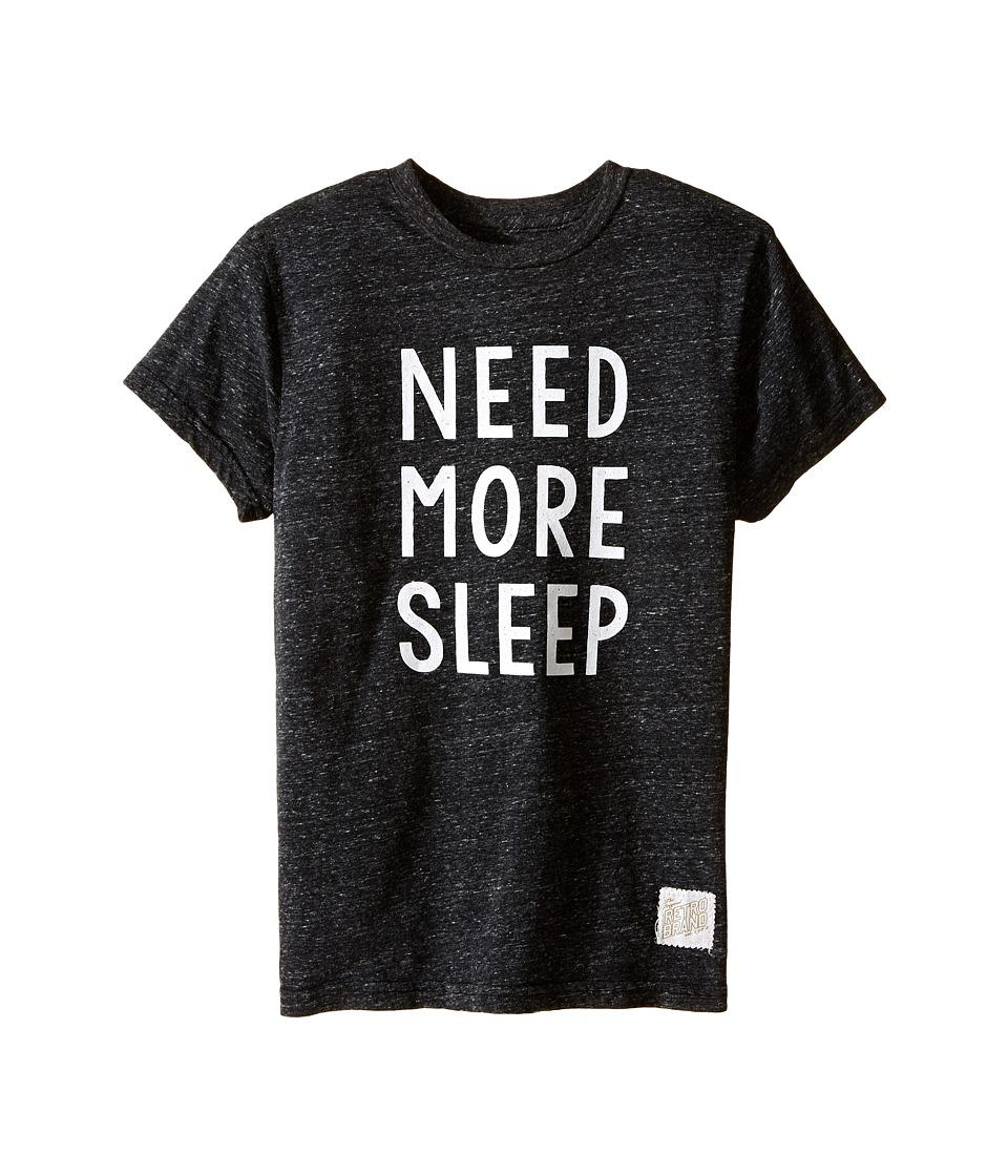 The Original Retro Brand Kids - Need More Sleep Short Sleeve Tri-Blend Tee