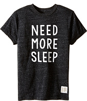 The Original Retro Brand Kids - Need More Sleep Short Sleeve Tri-Blend Tee (Big Kids)