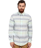 Original Penguin - Long Sleeve Gradient Horizontal Stripe