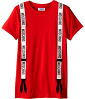 Moschino Kids - Suspender Graphic Short Sleeve T-Shirt (Big Kids)
