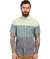 Original Penguin - 3 Color Engineered Stripe Short Sleeve Lawn Woven