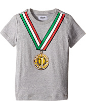 Moschino Kids - Short Sleeve T-Shirt (Little Kids/Big Kids)