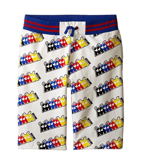 Moschino Kids Fleece Bermuda Shorts (Big Kids)