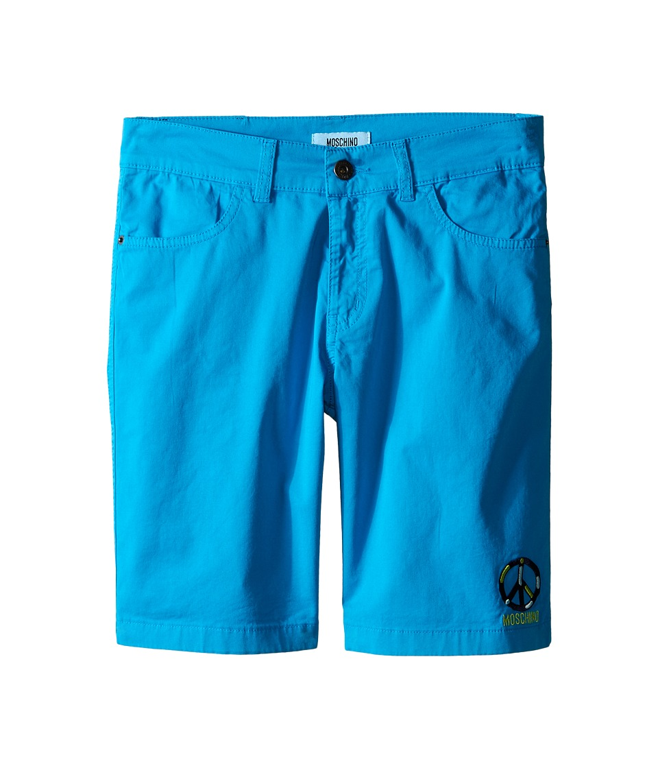 Moschino Kids Bermuda Shorts Big Kids Blue Boys Shorts
