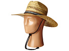 San Diego Hat Company Kids Rush Straw Lifeguard Hat with Adjustable Strap