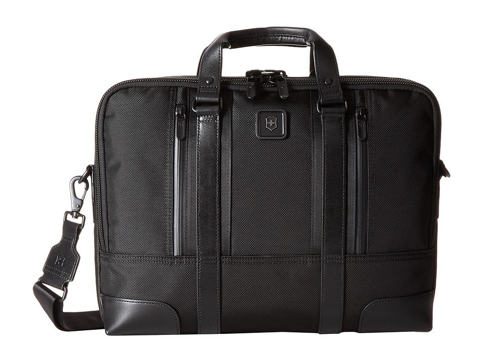 Victorinox Lasalle 15'' Laptop Brief (Black) Computer Bags